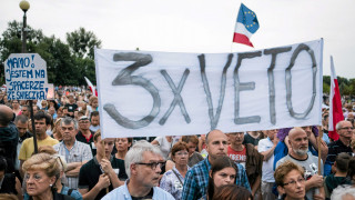 Πολωνία: Βέτο του προέδρου για τις μεταρρυθμίσεις στο δικαστικό σύστημα (pics&vid)