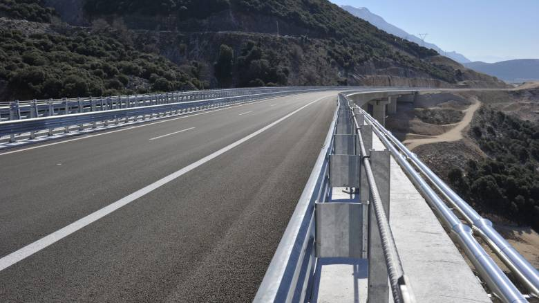 Νέο τμήμα της Ιόνιας Οδού στην κυκλοφορία