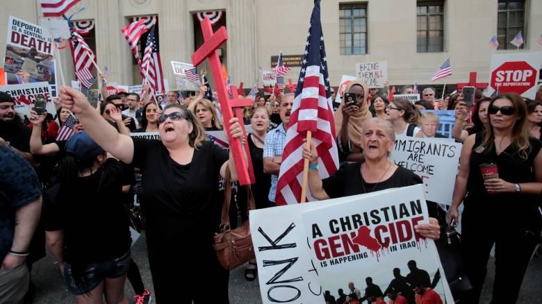 ΗΠΑ: Δικαστής μπλόκαρε την απέλαση 1.400 Ιρακινών