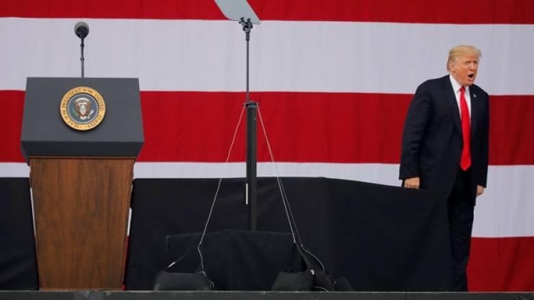 ΗΠΑ: Ο Τραμπ επιτίθεται και πάλι στον υπουργό Δικαιοσύνης Τζεφ Σέσιονς