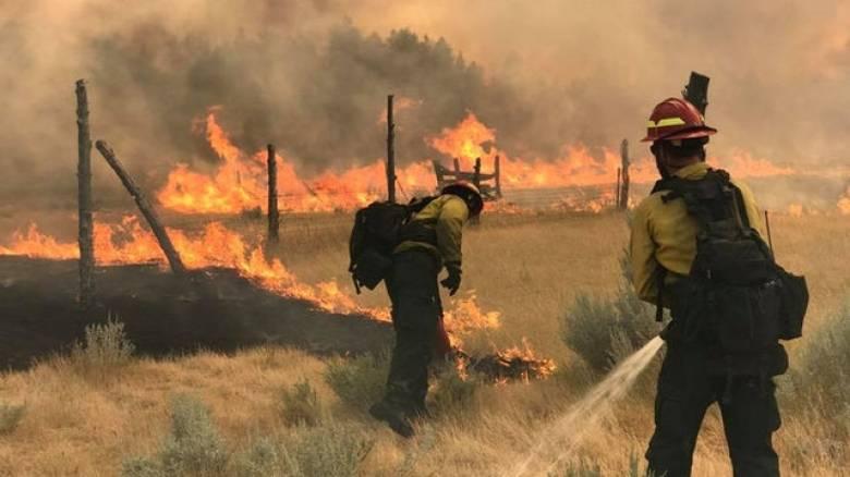 ΗΠΑ: Κερδίζουν έδαφος οι πυροσβέστες κατά της φωτιάς που κατακαίει την Μοντάνα