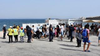 Χίος: Επεισόδια στον καταυλισμό προσφύγων της Σούδας (pics)