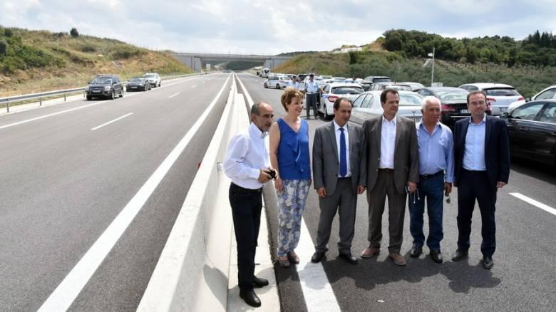 Ιόνια Οδός: Παραδόθηκε στην κυκλοφορία το τμήμα Αμφιλοχία- Άρτα (pics)