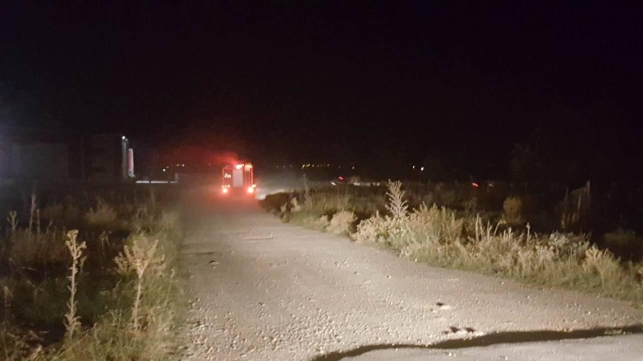 Συντριβή αεροσκάφους στη Λάρισα: Άγνωστα τα αίτια της τραγωδίας με τους δύο νεκρούς