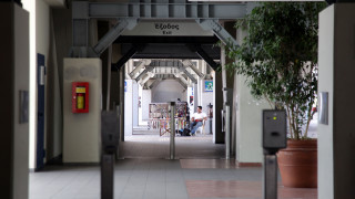 Φθορές στα ακυρωτικά μηχανήματα στον σταθμό του ΗΣΑΠ στον Περισσό