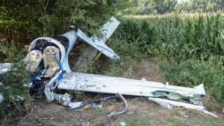 Λάρισα: Κατά τη διάρκεια της πτώσης του αεροσκάφους ο κινητήρας βρισκόταν σε λειτουργία
