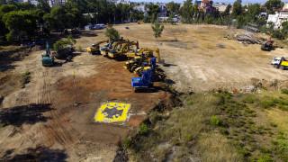 ΑΕΚ: «Ξεκίνησαν» οι εργασίες για το νέο γήπεδο μετά τον αγιασμό (vid)