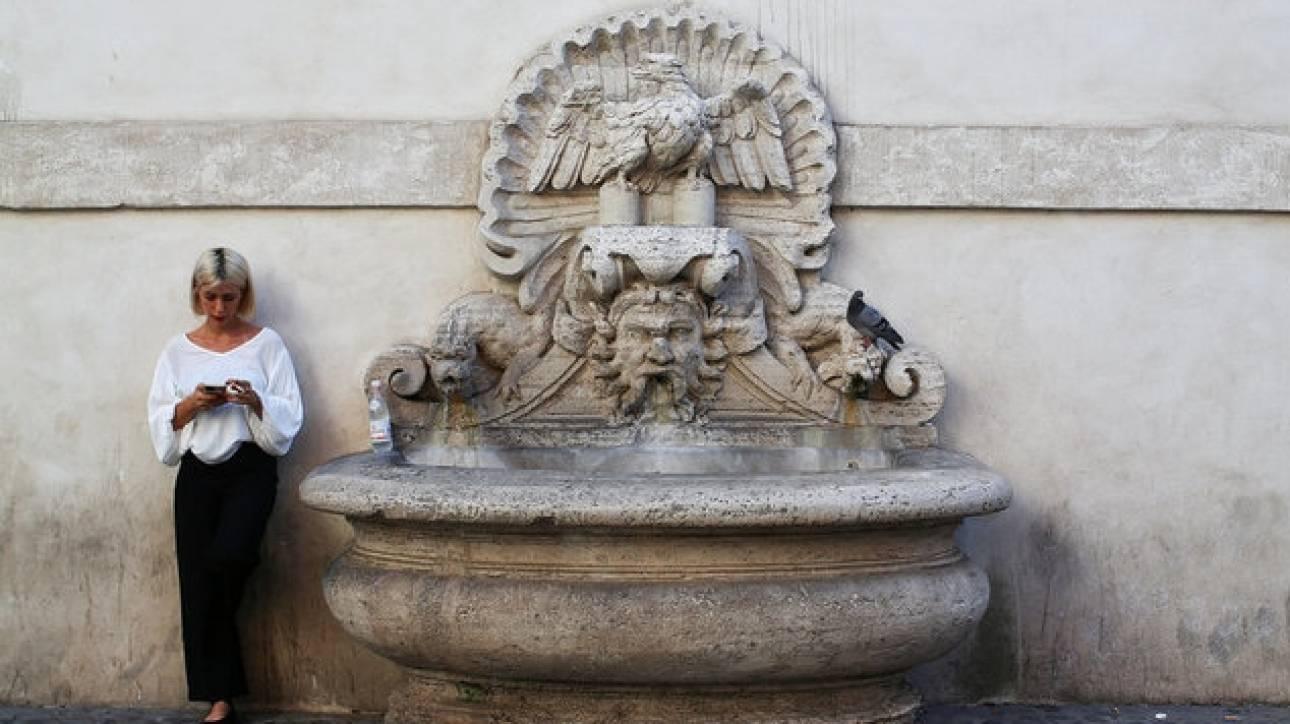 Αναβάλλεται η εκ περιτροπής διακοπή της υδροδότησης στη Ρώμη