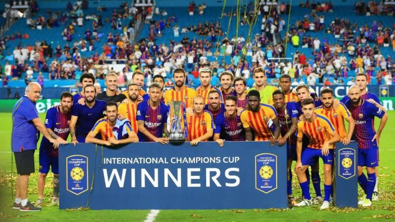 International Champions Cup: Στην Μπαρτσελόνα το πρώτο Clasico και το τρόπαιο