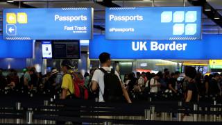 Βρετανία: Τέλος στην ελεύθερη μετακίνηση τον Μάρτιο του 2019