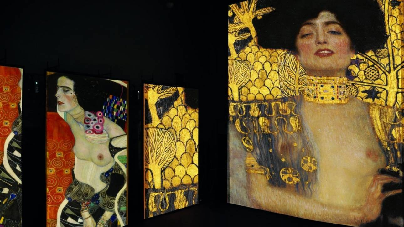 Γκούσταφ Κλιμτ: Εμβύθιση 360 μοιρών στο λυρικό κόσμο του ζωγράφου
