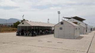 Φωτιά στο κέντρο φιλοξενίας προσφύγων της Softex