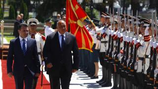 Σύμφωνο «καλής γειτονίας» υπέγραξαν Σκόπια και Σόφια (pics)