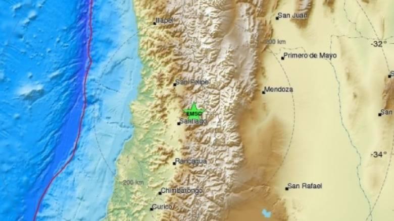 Σεισμική δόνηση στη Χιλή