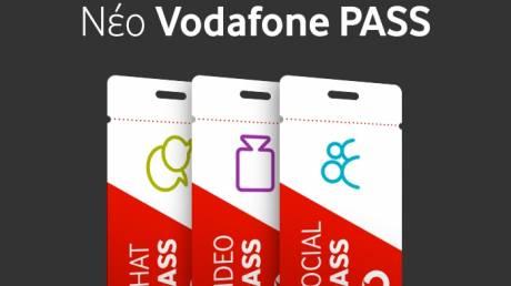 Ξέχνα τα GB και καλωσόρισε το νέο Vodafone Pass