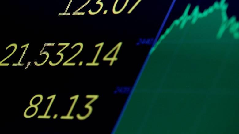 Ο Dow Jones ξεπέρασε για πρώτη φορά τις 22.000 μονάδες