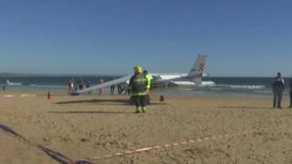 Δύο νεκροί μετά από αναγκαστική προσγείωση αεροσκάφους στην Πορτογαλία