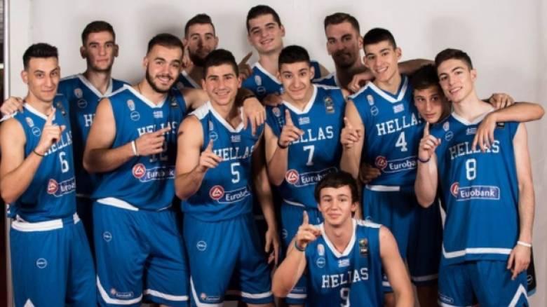 Eurobasket U18: Στην 8άδα η εθνική και «μάχη» με την Τουρκία