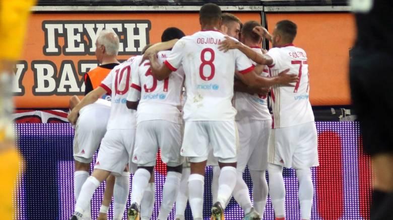 Champions League: Ένα βήμα από τους ομίλους ο Ολυμπιακός, 2-2 με την Παρτιζάν