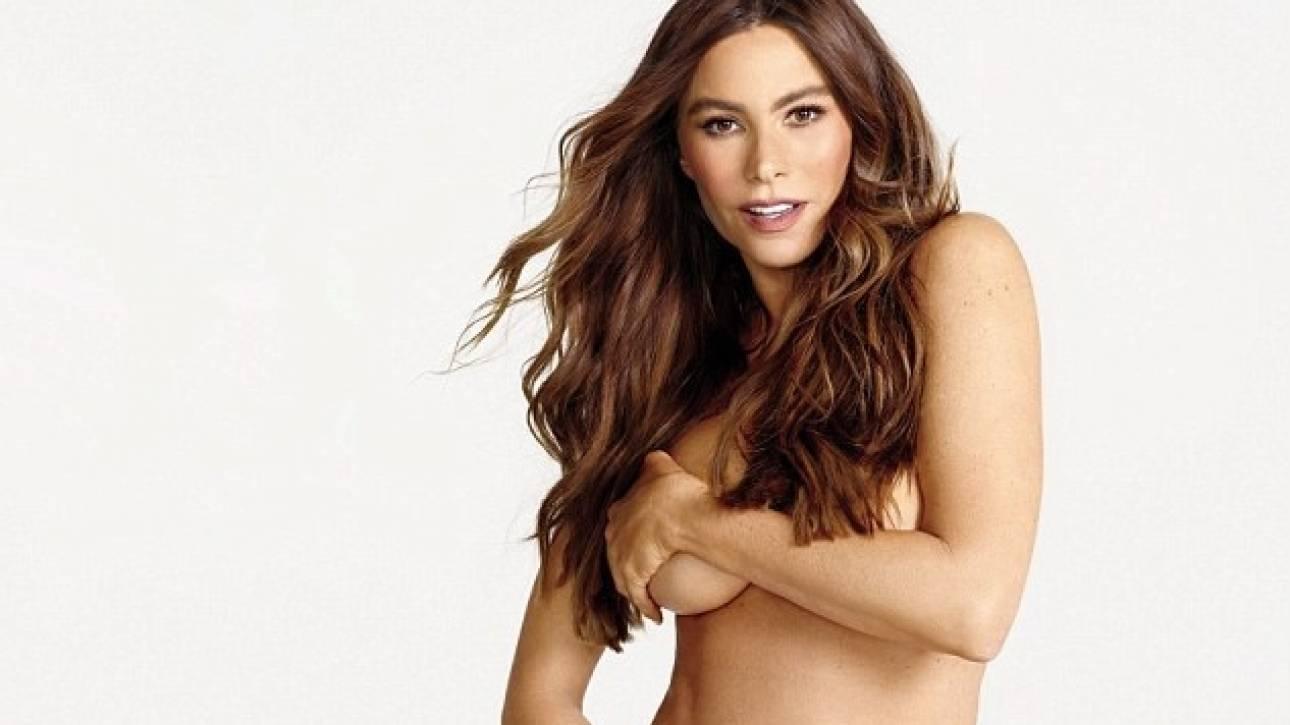 Sofia Vergara: Ποζάρει γυμνή στα 45 της για το Women's Health