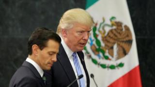 Τραμπ προς πρόεδρο Μεξικού: Μην λες δημόσια πως δεν θα πληρώσετε για το τείχος