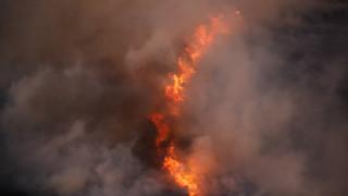 Πυρκαγιά σε εξέλιξη στα Κύθηρα