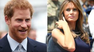 Η Μελάνια ταξιδεύει μόνη για τον Πρίγκιπα Χάρι