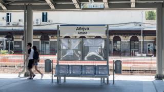 Αποκαταστάθηκαν τα δρομολόγια του τρένου στον άξονα Αθήνα–Θεσσαλονίκη–Αθήνα