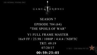 Game of Thrones: Διέρρευσε online το τέταρτο επεισόδιο - Ποιός ευθύνεται