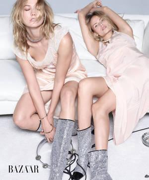 Karlie Kloss & Natasha Polly