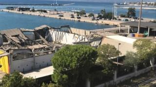 Τραγωδία στο παλιό λιμάνι της Πάτρας – 1 νεκρός από κατάρρευση οροφής (pics&vids)