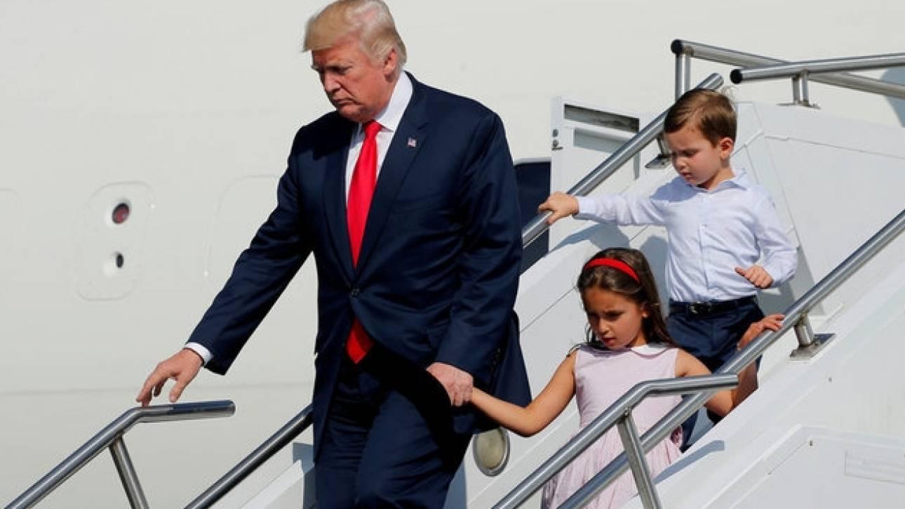 ΗΠΑ: Ξεκίνησαν οι καλοκαιρινές διακοπές του Ντόναλντ Τραμπ (pics)
