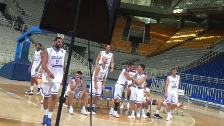 Eurobasket 2017: Παρασκήνιο από την επίσημη φωτογράφιση της εθνικής (vid)