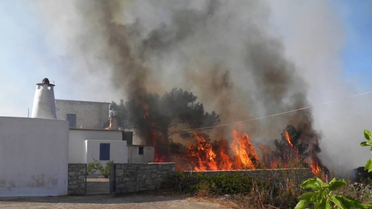 Φωτιά στα Κύθηρα: Τι σημαίνει η κήρυξη κατάστασης έκτακτης ανάγκης