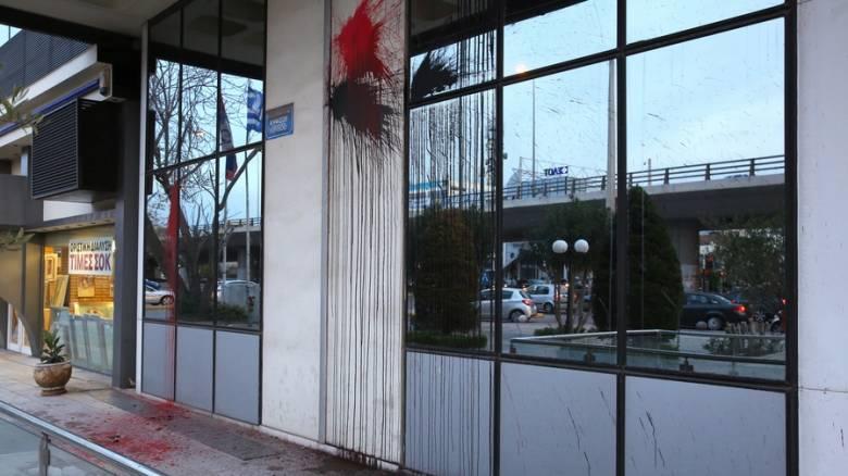 Επίθεση του Ρουβίκωνα στα γραφεία της SIEMENS