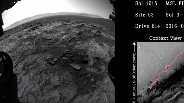 Πέντε χρόνια του Curiosity στον Άρη μέσα από ένα υπέροχο time-lapse βίντεο (Vid)