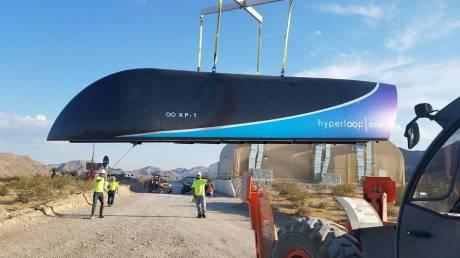 Γκαζώνει το υπερηχητικό τρένο: πρώτη δοκιμή με βαγόνι