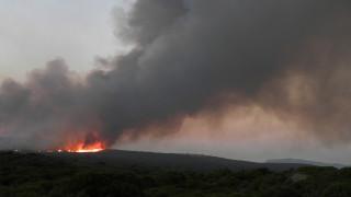 Μαίνεται για τέταρτη ημέρα η πυρκαγιά στα Κύθηρα