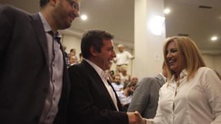 Φώφη Γεννηματά: Η υποψηφιότητα Καμίνη ενισχύει τη δυναμική της Δημοκρατικής Συμπαράταξης