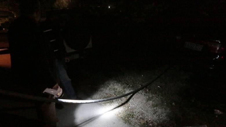 Έκρηξη μετασχηματιστή της ΔΕΗ στην Καβάλα - Στο σκοτάδι για μιάμιση ώρα όλος ο δήμος