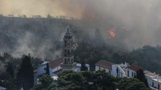 Κύθηρα: Άγρια πολιτική κόντρα πάνω από τις στάχτες – Τι δείχνει η έρευνα της Πυροσβεστικής (pics)
