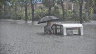 Κίνα: Τρεις νεκροί από τις σφοδρές βροχοπτώσεις
