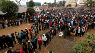 Κένυα: Ουρές ψηφοφόρων έξω από τα εκλογικά κέντρα
