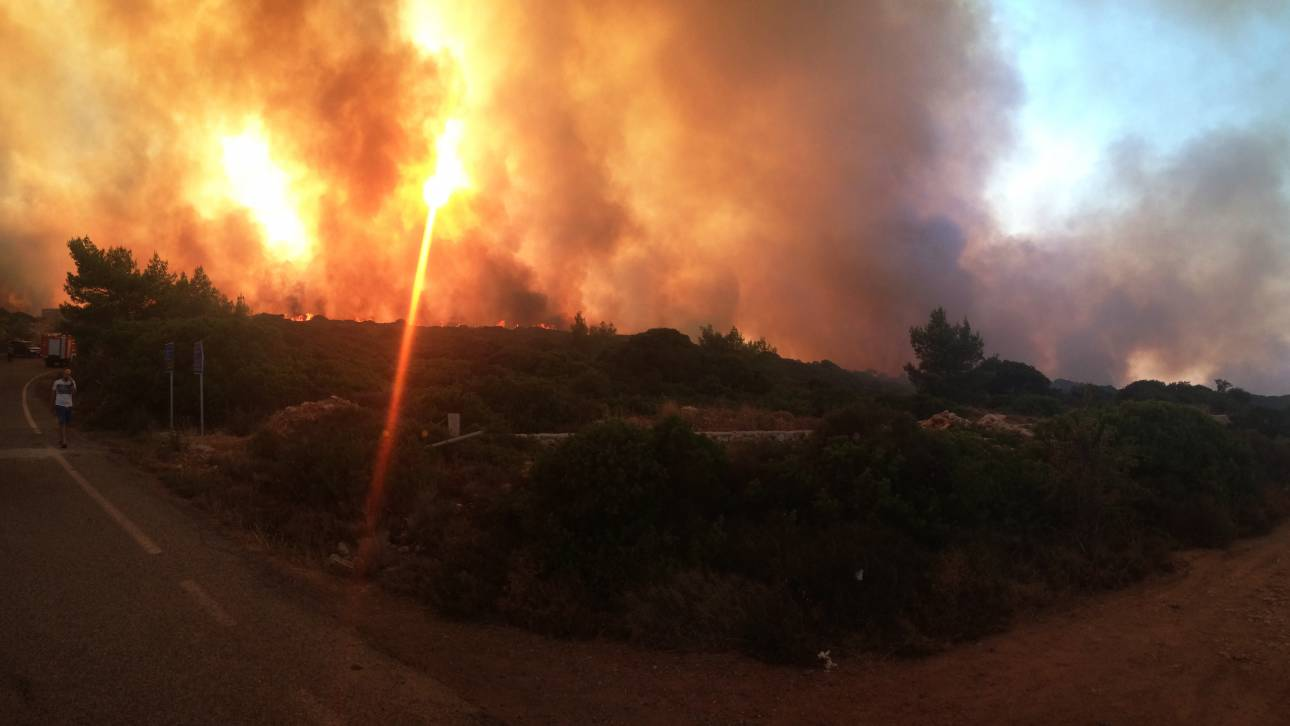 Ποιες περιοχές κινδυνεύουν από πυρκαγιές την Τετάρτη
