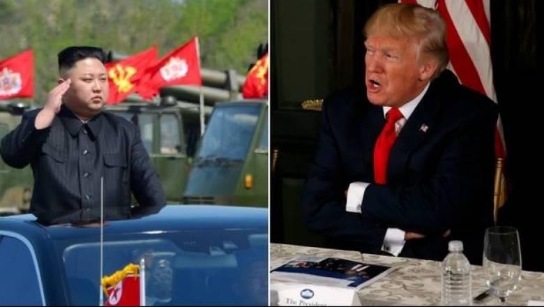 Ο Τραμπ απειλεί τη Βόρεια Κορέα με φωτιά και οργή - Η αποκάλυψη για τις πυρηνικές κεφαλές