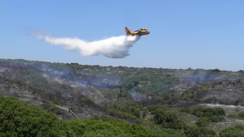 Πενήντα πυρκαγιές το τελευταίο 24ωρο - Ποιες περιοχές κινδυνεύουν σήμερα