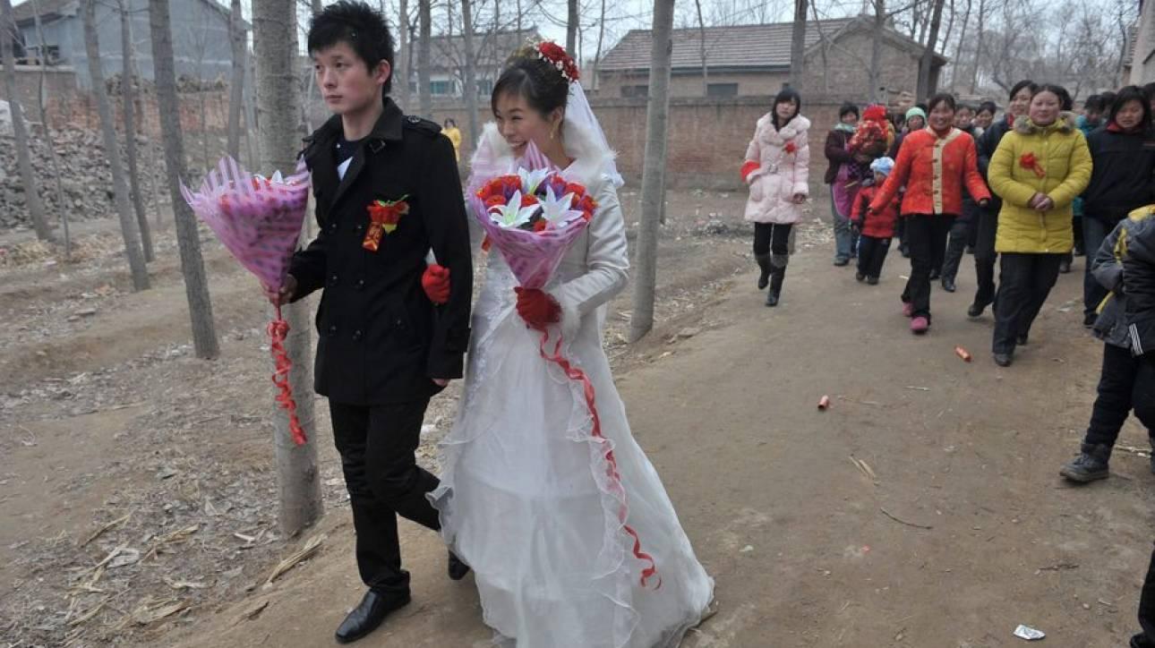 Κίνα: Φωτογράφιση γάμου σε… πυρηνικό εργοστάσιο