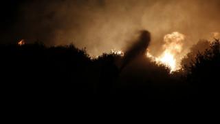 Υπό μερικό έλεγχο τέθηκε η φωτιά στην Κέα