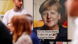 Γερμανία: Πέφτει η δημοφιλία της Μέρκελ πριν από τις εκλογές
