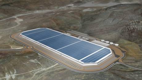 Αυτό είναι το μεγα-εργοστάσιο της Tesla